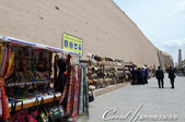 2019Amazing!穿越古絲路上的中亞五國之旅(9-3)--烏茲別克斯坦之希瓦內城:10●曾有一度我對於城牆內過於商業化的氣氛而感到一絲失望,但卻也豁然開朗「ㄟ?數百年前,這裡不就是這樣商貿繁