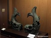 初夏14日自由行--春風吹又生的名古屋城:●展示室中還有一對貌似原物複製的小版金.JPG