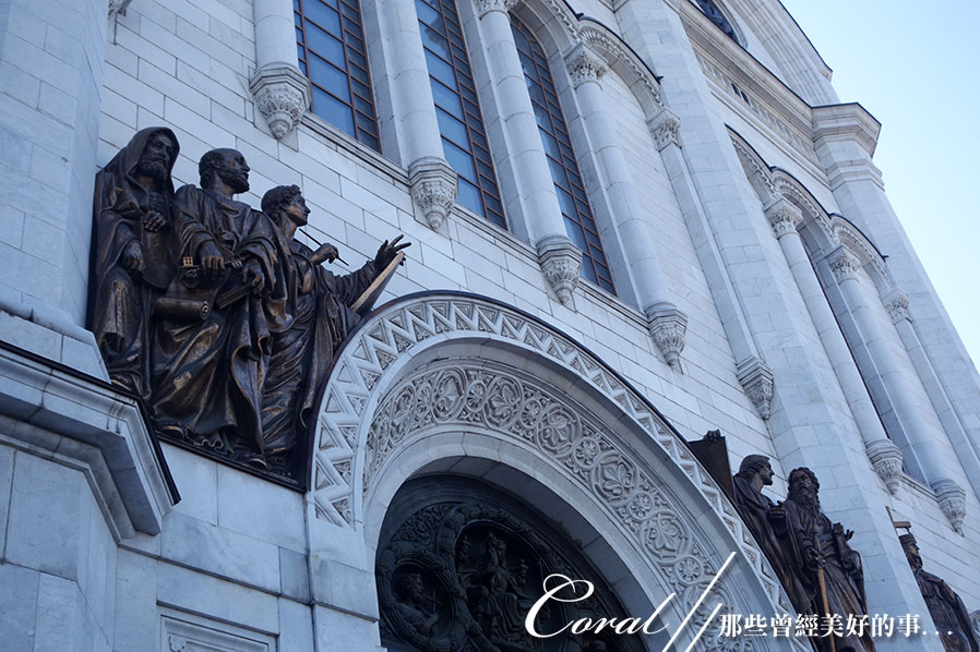 2018印象翻轉的俄羅斯奇幻之旅(2-3)--莫斯科河畔之美哉!基督救世主大教堂:04●從重建後的教堂可想見,過去需歷時17年打造的巨型浮雕,有多麼的令人震憾.JPG