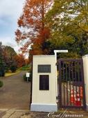 紅葉飄飄15日東京自由行--閃耀著童話森林般迷人色彩的小石川植物園:04●東京大學小石川植物園到了.JPG