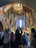 2018印象翻轉的俄羅斯奇幻之旅(5-1)--救世主變容大教堂在當地是保留16世紀宗教繪畫的寶庫:●眾人仰望驚嘆的穹頂.JPG