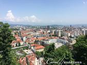 2018不思議之克、斯、義秘境歐遊記(6~3)--中古世紀盧比安納城堡 Ljubljana Cast:14●居高臨下俯瞰首都盧比安納,包圍這座城市的,正是遠方的阿爾卑斯山山麓.JPG