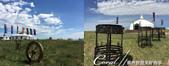 2019夏季內蒙草原風光與貝加爾湖詩意之約(10-1)--結伴到呼倫貝爾草原(上):04●一小時車程後,終於落地踏上拜訪蒙古傳統文化的旅程,來到呼倫貝耳草原上一處景區,由於當日天氣很好,藍天綠