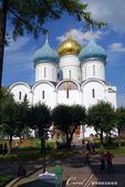 2018印象翻轉的俄羅斯奇幻之旅(6-2)--宛如置身遊樂園的謝爾蓋聖三一修道院:16●晴空之下,果真有種聖母散發關愛光芒的意境.JPG