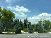 2019Amazing!穿越古絲路上的中亞五國之旅(11-1)--土庫曼斯坦首都──阿什哈巴德:03●公園、大道、花壇柔化了白理石建築給人的剛強印象,此次造訪中亞國家突然發覺,他們十分善於利用綠化來美化市