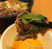 紅葉飄飄15日東京自由行--品味黑毛牛的奢華食光:01●薄片牛肉,涮一下;軟嫩香甜.JPG