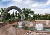 2019Amazing!穿越古絲路上的中亞五國之旅(7-5)--塔吉克斯坦首都杜尚別印象之旅:01●為紀念波斯偉大詩人魯達基建造的雕像和花園.jpg