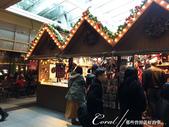 紅葉飄飄15日東京自由行--品味黑毛牛的奢華食光:06●地標蜘蛛後方的耶誕市集,剛開始準備中,氣氛尚未炒熱.JPG