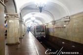 2018印象翻轉的俄羅斯奇幻之旅(3-1)--目眩神迷在宛如藝術殿堂的莫斯科地鐵站:13●一樣呈現著華麗古典的建築氛圍,共青團站被認為是莫斯科地鐵中最美麗的車站之一.JPG