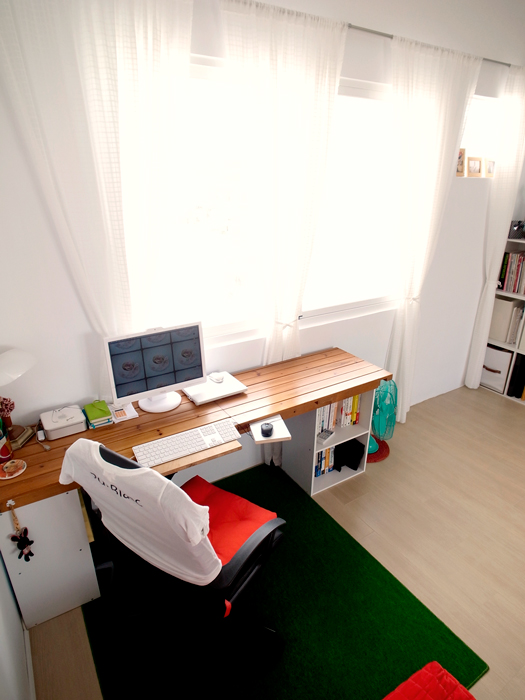 CY's sweet home ^^:home office