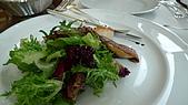 20090803 Toscana 乾式熟成牛排初嚐:前菜 鴨肝干貝沙拉