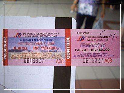 9702峇里島之旅:峇里島-機場稅
