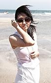 白沙灣+淡水=曬傷(嗚...):但我在淺水灣就想下車了