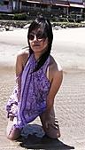 白沙灣+淡水=曬傷(嗚...):媽咪買的沙龍