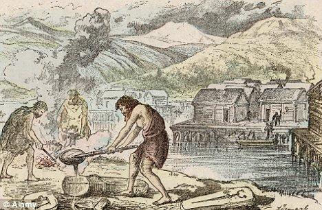 考古學家發現青銅器時代居民以蕁...