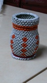 我的作品:紙編的花瓶二.jpg