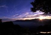 落日系列:阿里山的日出