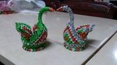 我的作品:紙編綠色小天鵝