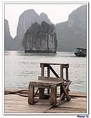 96北越:A0166賣海產平台-下龍灣