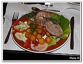 96捷克-餐飲美食:A76163339摩拉維亞豬肉捲-Stara Fara餐廳-塔拉小鎮