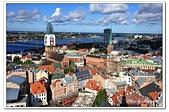 104拉脫維亞:A10409220758聖彼得教堂尖塔鳥瞰-里加-拉脫維亞.jpg