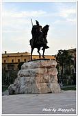 107-2阿爾巴尼亞:A10706081459史肯伯格雕像-史肯伯格廣場-提拉那-阿爾巴尼亞.jpg
