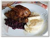 96捷克-餐飲美食:A76110509烤鴨餐-午餐-ZVON HTL-巴德傑維契