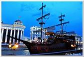 107-2馬其頓:A10706051051夜景-船餐廳-瓦爾達爾河畔-史高比耶-馬其頓.jpg
