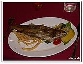 96捷克-餐飲美食:A76100051鱒魚餐-午餐-莫拉夫斯基