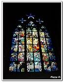96捷克-窗之藝術:A76152555慕夏之窗彩繪玻璃-聖維塔教堂-布拉格