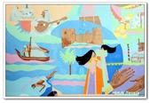 99富吉拉-阿拉伯聯合大公國:A9902160924壁畫-國家博物館-富吉拉-阿拉伯聯合大公國.jpg