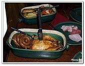 96捷克-餐飲美食:A76110888主菜-中古世紀晚宴-庫倫洛夫