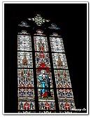 96捷克-窗之藝術:A76152567彩繪玻璃-聖維塔教堂-布拉格