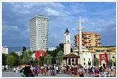 107-2阿爾巴尼亞:03A10706081450_HOTEL PLAZA與恩森梅清真寺-提拉那-阿爾巴尼亞.jpg