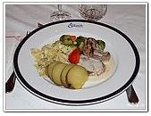 96捷克-餐飲美食:A76121434主菜豬排-晚餐-Esplanade Hotel-瑪麗安司凱