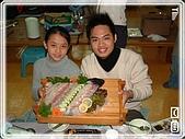 93韓國行:A0123柔翰-生魚片-海鮮大餐-韓華渡假村附近