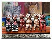 96捷克-櫥窗商品:A76110616貓-櫥窗-庫倫洛夫