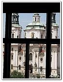 96捷克-窗之藝術:A76152864聖尼古拉教堂-鐘樓-布拉格
