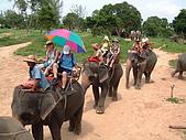 95泰國行:A157騎大象-芭達雅