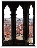 96捷克-窗之藝術:A76152909鳥瞰布拉格-鐘樓-布拉格