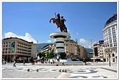107-2馬其頓:A10706071208亞歷山大帝雕像-馬其頓廣場-史高比耶-馬其頓.jpg