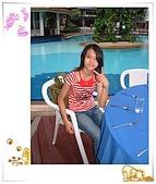 95泰國行:村棧池畔自助餐