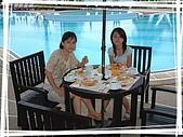 95泰國行:池畔早餐
