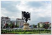 107-2阿爾巴尼亞:A10706091482雙頭鷹國徽-提拉那-阿爾巴尼亞.jpg
