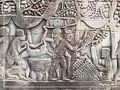 96吳哥窟:A0878石雕-巴戎廟-大吳哥城