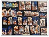 96捷克-櫥窗商品:A76142213磁鐵畫-櫥窗-小區-布拉格