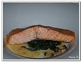 96捷克-餐飲美食:A76153022主菜鮭魚-米其林評鑑餐廳 Mlynec-布拉格
