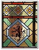 96捷克-窗之藝術:A76152964彩繪玻璃-火藥塔內-舊城區-布拉格