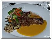 96捷克-餐飲美食:A76153025主菜牛排-米其林評鑑餐廳 Mlynec-布拉格