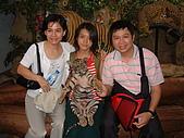 95泰國行:與小老虎合照